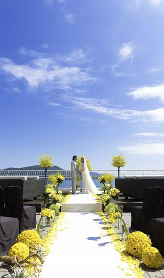 鳥羽国際ホテル セレモニースペース(【テラス人前式】見渡す限り広がる海と空)画像2-1