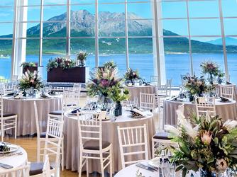 W THE STYLE OF WEDDING セレモニースペース(純白のチャペルと桜島を眺めて過ごす1日)画像2-3
