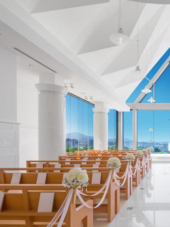盛岡グランドホテル チャペル(天空のチャペル -ジョワイヨ・イマキュレ-)画像1-1