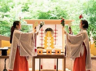 ホテル椿山荘東京 神殿(庭園内神殿 杜乃宮)画像2-3
