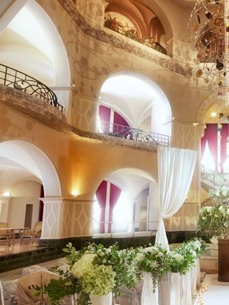 ロイヤルオークホテル スパ&ガーデンズ セレモニースペース(アトリウムロビー(着席~120名様))画像1-1