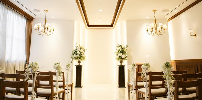 小さな結婚式 表参道店 チャペル(チャペル(表参道チャペル))画像1-1