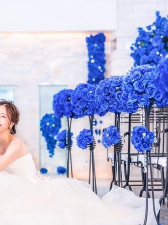 プライベートリゾート カリメーラ チャペル(青い輝きに包まれたブルーローズチャペル)画像2-2
