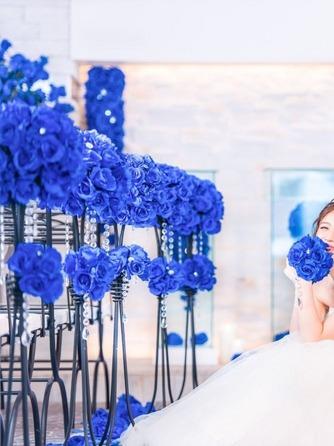 プライベートリゾート カリメーラ チャペル(青い輝きに包まれたブルーローズチャペル)画像2-1