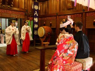 八幡の森 写遊庭 神社(本格神前挙式)画像2-3