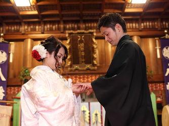 八幡の森 写遊庭 神社(本格神前挙式)画像2-2