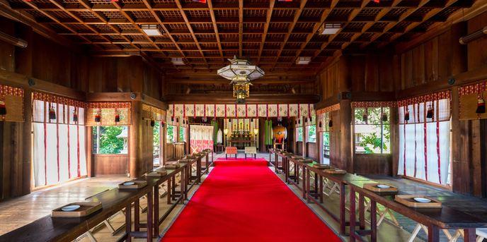 八幡の森 写遊庭 神社(知多市指定文化財「尾張八幡神社」)画像2-1