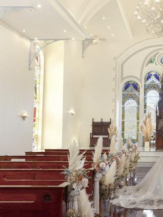 迎賓館 サクラヒルズ川上別荘 チャペル(チャペル《着席100名の大聖堂挙式》)画像1-1