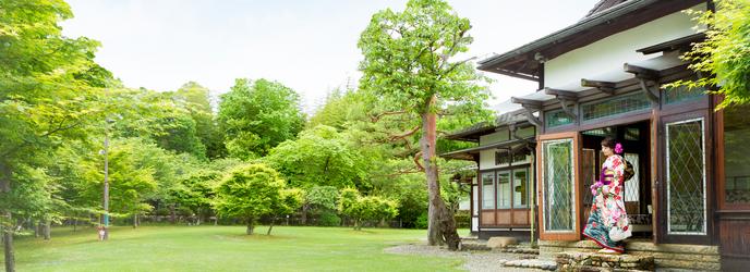 迎賓館 サクラヒルズ川上別荘 撮影スポット2画像1-1