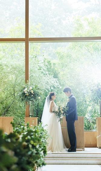 アーフェリーク迎賓館 熊本 チャペル(緑と光が溢れる新チャペル)画像2-1