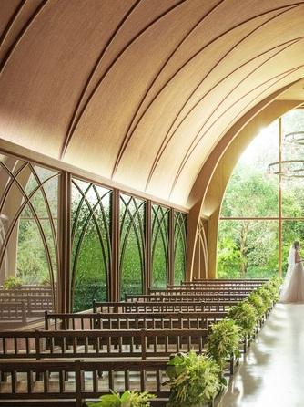 アーセンティア迎賓館 大阪 チャペル(リニューアルオープン『森のチャペル』)画像1-1