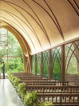 アーセンティア迎賓館 大阪 チャペル(リニューアルオープン『森のチャペル』)画像1-2