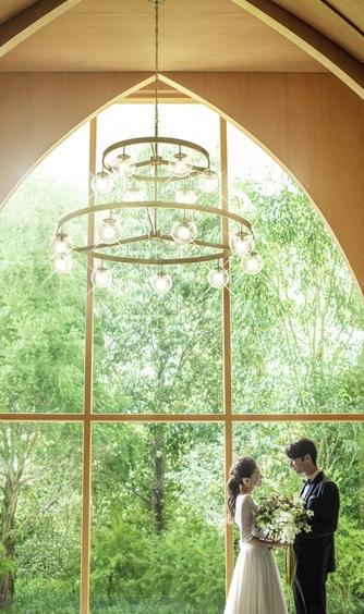 アーセンティア迎賓館 大阪 チャペル(リニューアルオープン『森のチャペル』)画像2-1