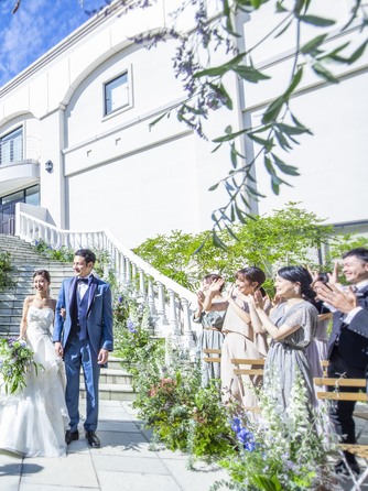 AILE d'ANGE garden(エル・ダンジュ ガーデン) 大階段を備えた白亜の邸宅をまるごと貸切♪画像1-2