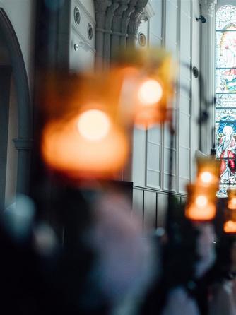 KOBE St.MORGAN CHURCH(神戸セントモルガン教会) 教会(自然光で輝くステンドグラス/挙式:2名~)画像1-1