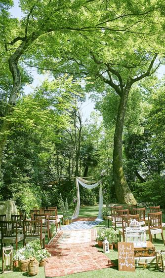 THE NANZAN HOUSE(ザ ナンザン ハウス) セレモニースペース(ガーデン挙式)画像2-1