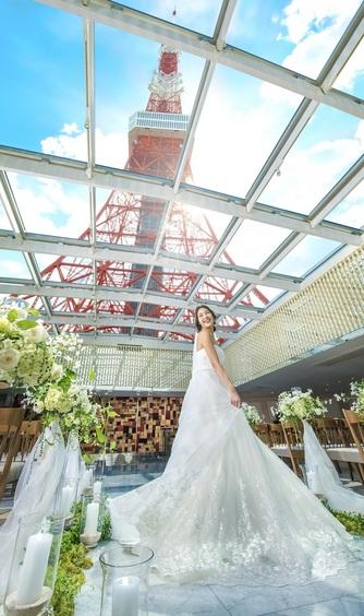 The Place of Tokyo (ザ プレイス オブ トウキョウ) チャペル(【Chapel】青空と東京タワーの絶景)画像2-1