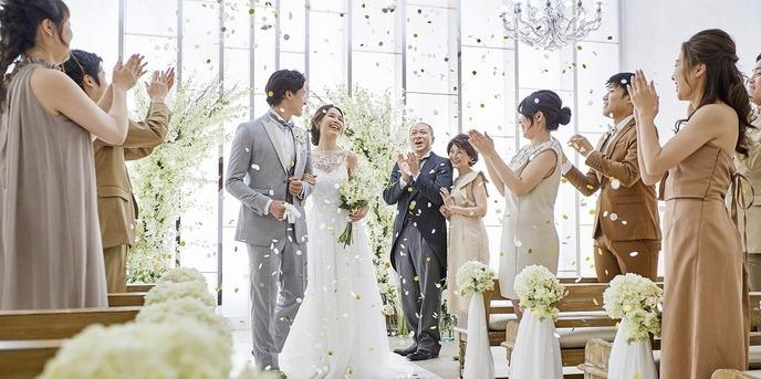 小さな結婚式 大阪ハービスエント店 チャペル(小さな結婚式 ハービスENTチャペル)画像1-1