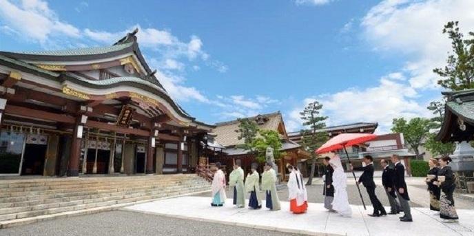 神明神社 参集殿 juju 神殿(神明神社)画像1-1