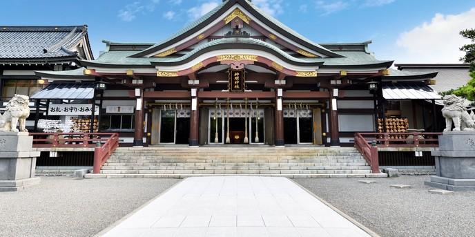 神明神社 参集殿 juju 神社(神明神社【本殿】)画像2-1
