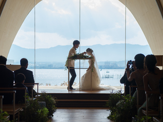 SETRE MARINA BIWAKO(セトレ マリーナびわ湖) チャペル(WEDDING CHAPEL【風の音】)画像2-2