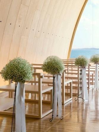 SETRE MARINA BIWAKO(セトレ マリーナびわ湖) チャペル(WEDDING CHAPEL【風の音】)画像1-1