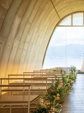 SETRE MARINA BIWAKO(セトレ マリーナびわ湖) セレモニースペース(自然の移ろいが魅せるプライベートホテル)画像1-1