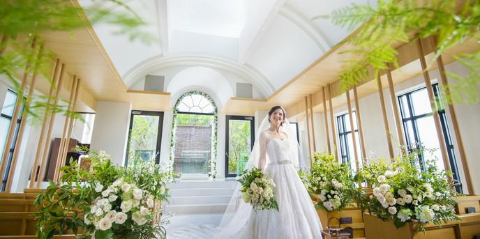 エミリア(Wedding Court EMILIA) セレモニースペース(チャペル:アンソレイユ)画像1-1