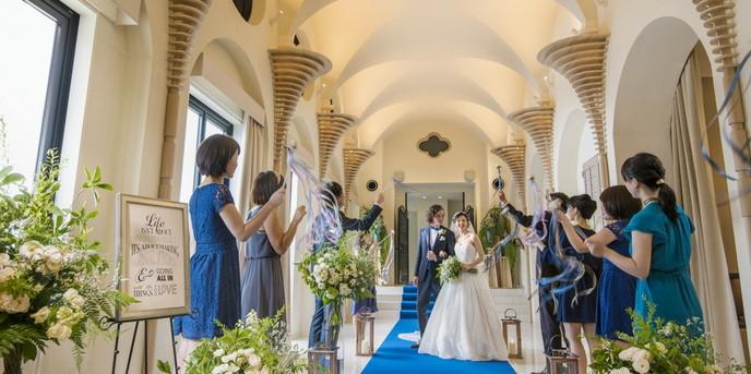エミリア(Wedding Court EMILIA) セレモニースペース(チャペル:アンソレイユ)画像2-1