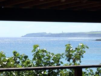 百名伽藍(GARAN WEDDING):ダイニング甘露からは目の前に広がる海を眺める事が出来ます