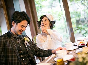 The 華紋(ザ カモン) 和婚人前式の後は、笑顔がいっぱいの時間を画像1-2