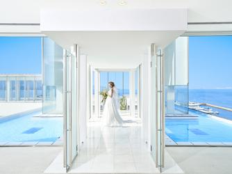 ホテルマリノアリゾート福岡 チャペル(ホテル最上階、海を一望するチャペル)画像2-2