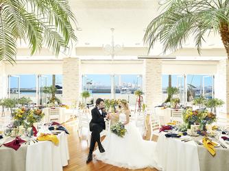ホテルマリノアリゾート福岡 海と空の絶景広がるリゾートウェディング画像2-3