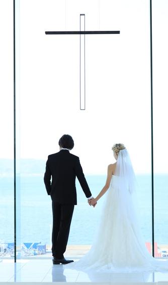 ホテルマリノアリゾート福岡 チャペル(ホテル最上階、海を一望するチャペル)画像2-1
