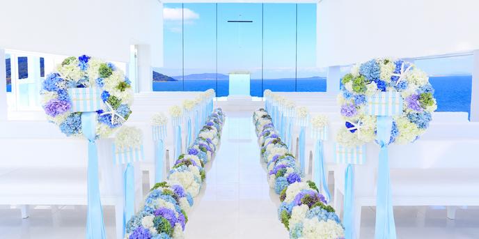 ホテルマリノアリゾート福岡 海と空の絶景広がるリゾートウェディング画像1-1