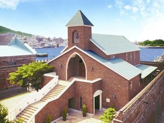 リラノートチャーチ ベイ函館 チャペル(【コンセプト】海辺の独立型教会で結婚式)画像2-1