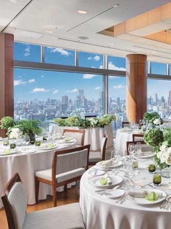 ストリングスホテル東京インターコンチネンタル 東京の絶景を満喫できる優雅なウエディング画像1-1
