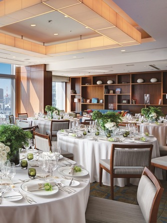 ストリングスホテル東京インターコンチネンタル 東京の絶景を満喫できる優雅なウエディング画像1-2