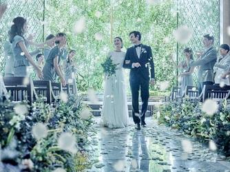 インスタイルウェディング京都(InStyle wedding KYOTO) チャペル(四季で変わる森の木漏れ日チャペル)画像2-2