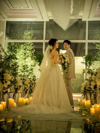 ラグナヴェール 金沢(LAGUNAVEIL KANAZAWA) チャペル(ロマンチックなナイトウエディング)画像2-2