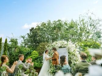 パラッツォ ドゥカーレ 麻布 緑あふれる寛ぎの邸宅ウエディングを画像2-1