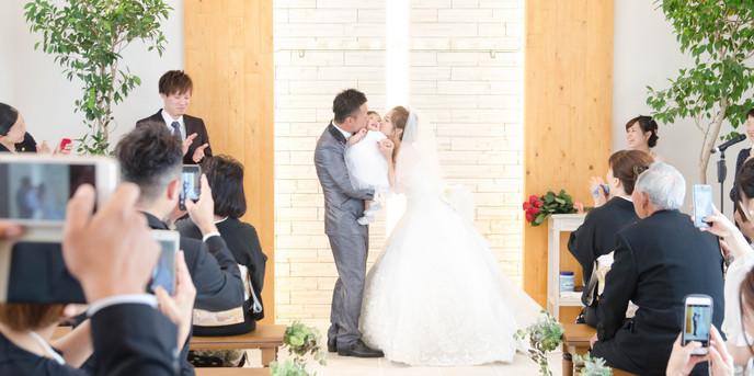 Cafe Wedding H&A チャペル(自然光が差し込むガーデン付きの挙式会場)画像1-1