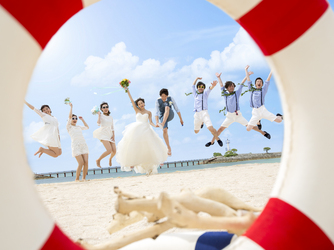 アートグレイス オーシャンフロントガーデンチャペル 沖縄:フォトスポット盛りだくさん♪