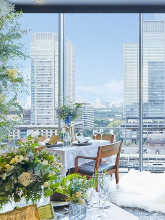 XEX TOKYO(ゼックス 東京) 東京駅直結のレストランウエディング画像1-1