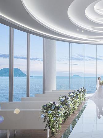 唐津シーサイドホテル チャペル(光の天空チャペル)画像1-1