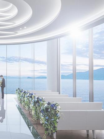 唐津シーサイドホテル チャペル(光の天空チャペル)画像1-2