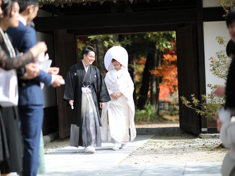 駒ヶ根高原 古民家ウェディング 「音の葉」 神殿(外神前式)画像2-1