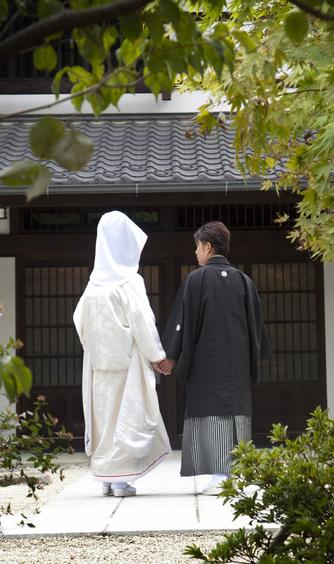 駒ヶ根高原 古民家ウェディング 「音の葉」 セレモニースペース(式スペース)画像2-1