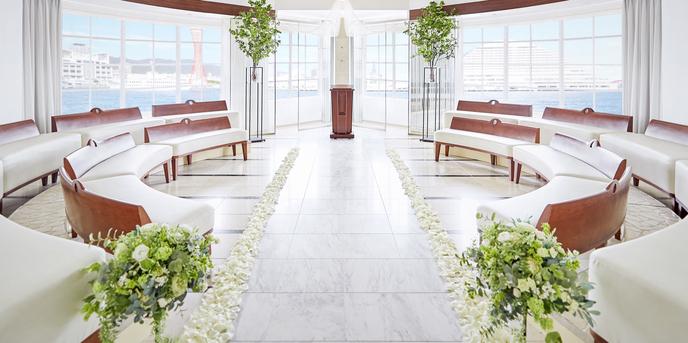 小さな結婚式 神戸モザイク店 チャペル(小さな結婚式 モザイクチャペル)画像1-1