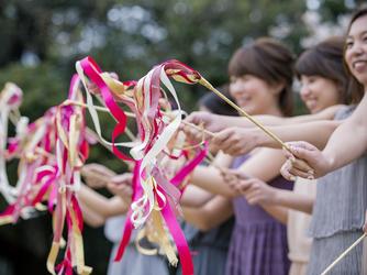 THE GRASS HOUSE 桜の杜 セレモニースペース(太陽と空と緑に愛を誓うガーデン挙式)画像2-3